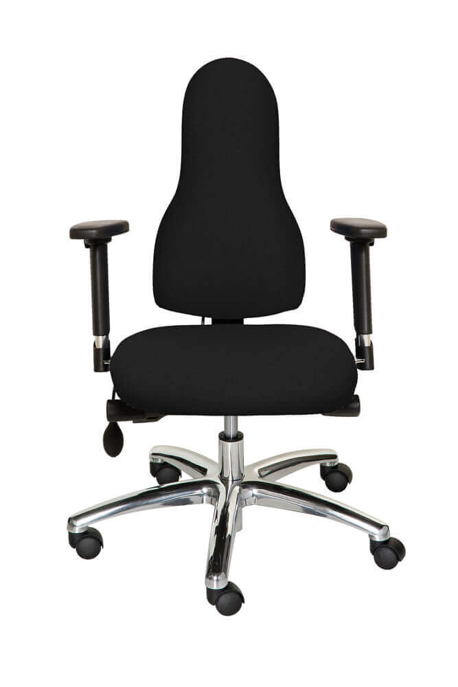 Diffusion Ergonomic Chair Black