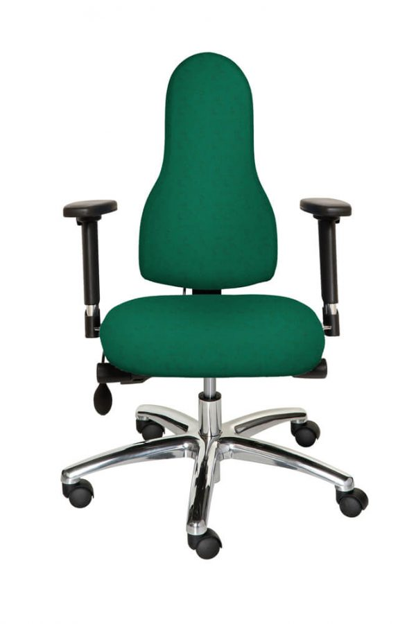 Diffusion Ergonomic Chair Racing Green