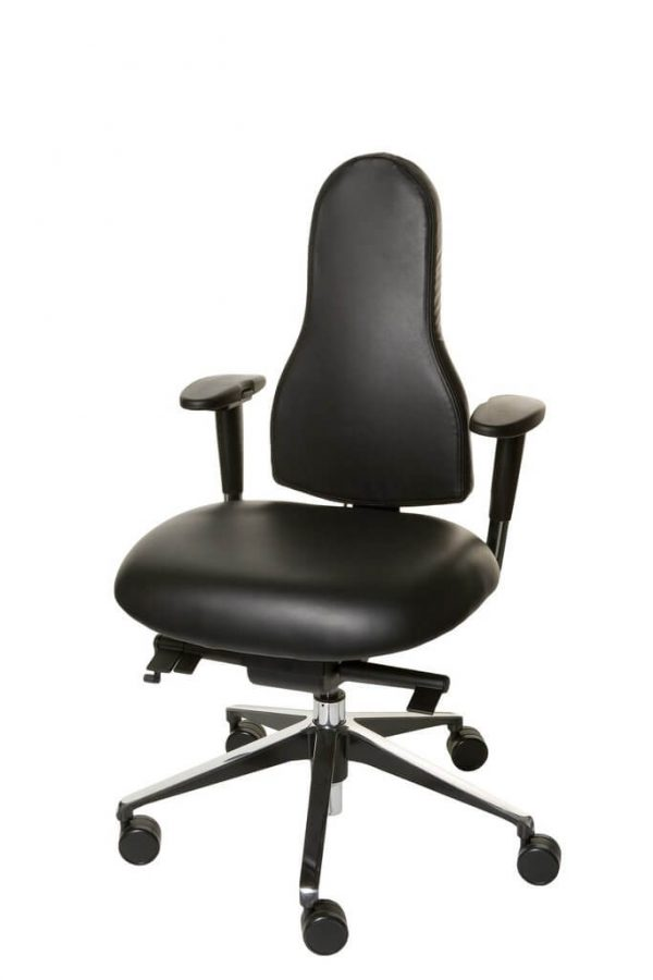 Libero Specialist Ergonomic Chair Black Leather