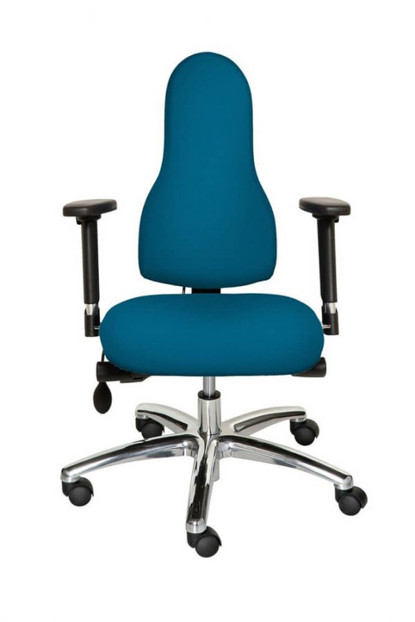 Diffusion Ergonomic Chair Navy Blue