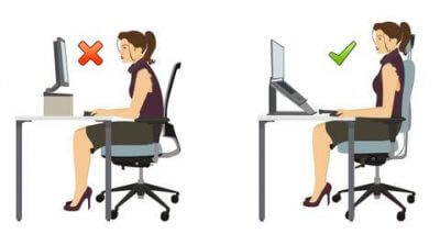 Correct Posture For Using A Computer