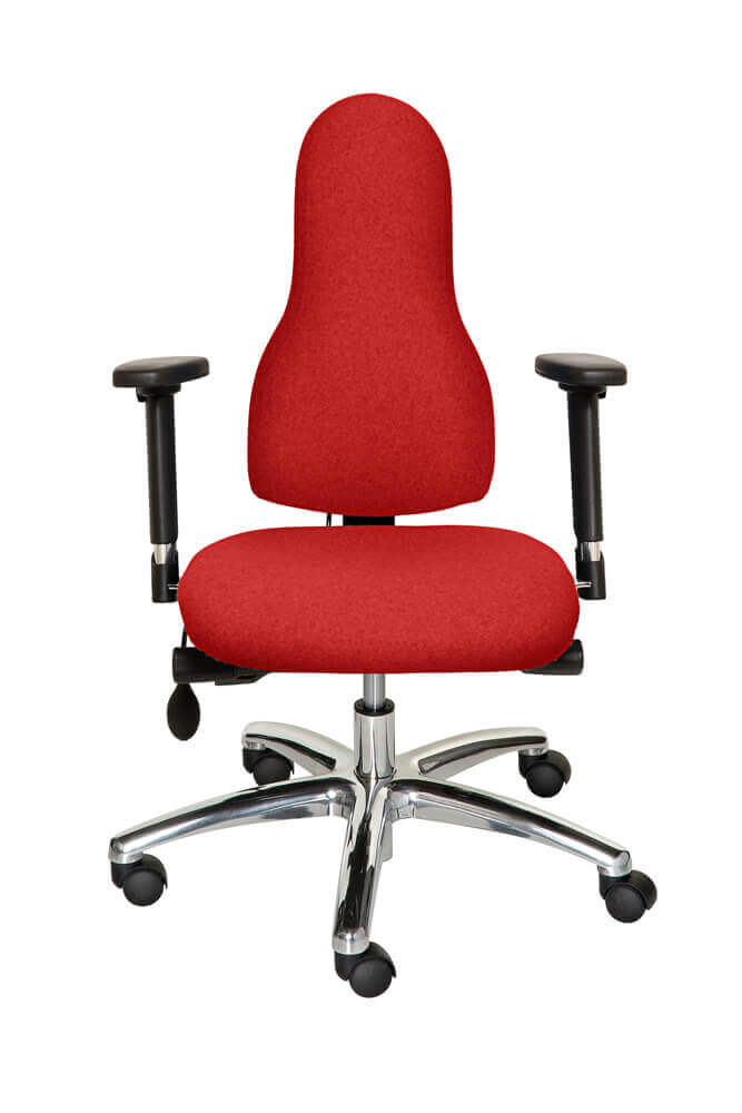 Diffusion Ergonomic Chair Red